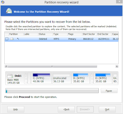Locate Your Lost or Deleted Partitions - ITTWIST