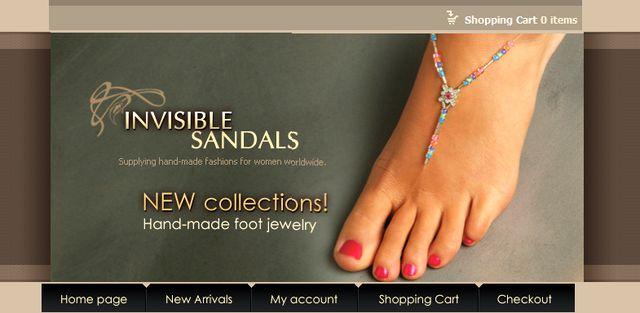 InvisibleSandals.com