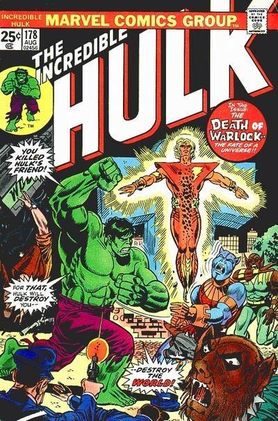 Incredible Hulk #178, Warlock reborn