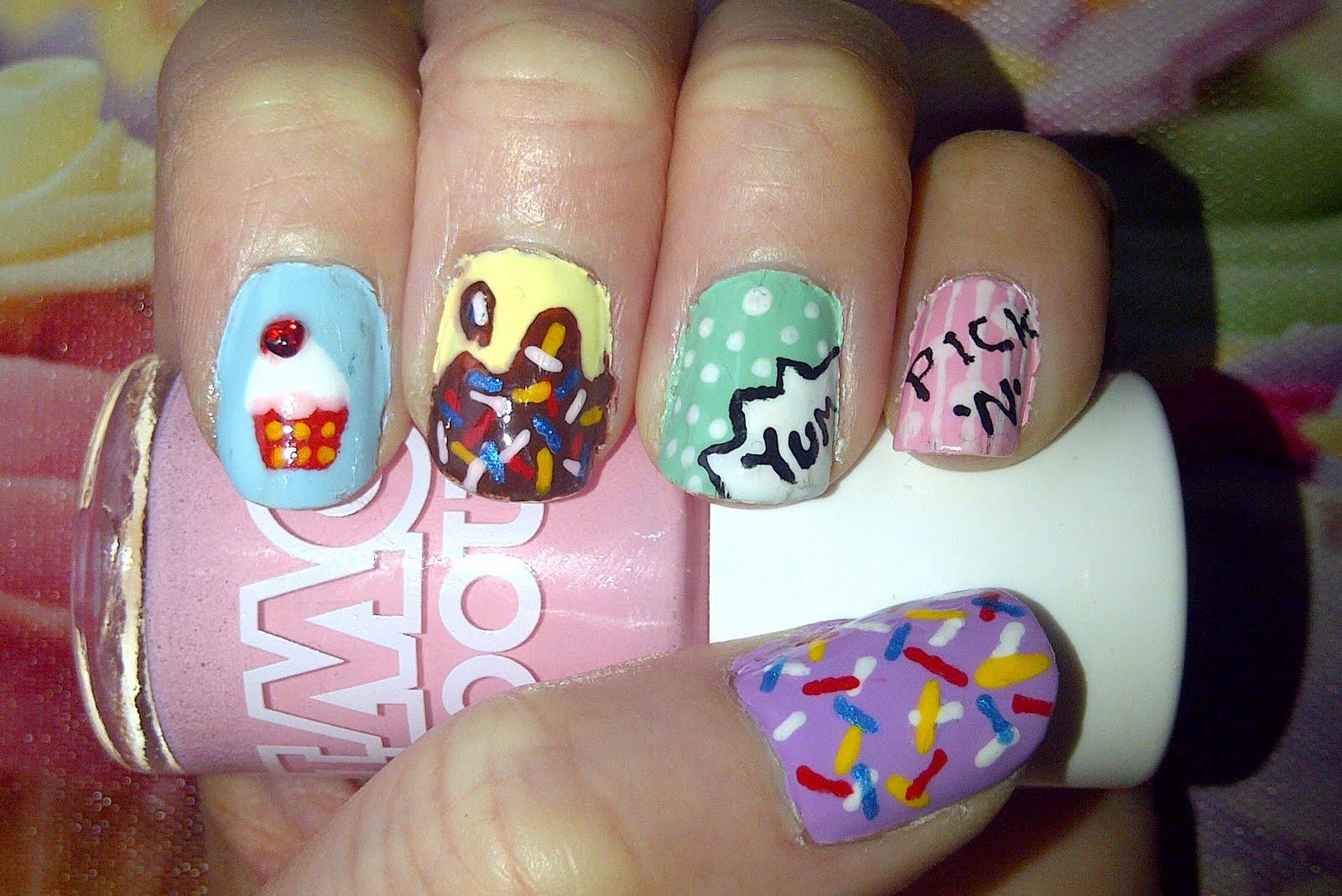 Nail Daze: ...Sweet Like Candy...