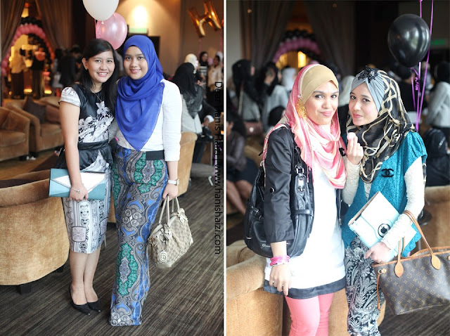Coco Chanel private party hanis haizi with cdm adibah karimah protege