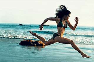 Woman Sprinting Techniques