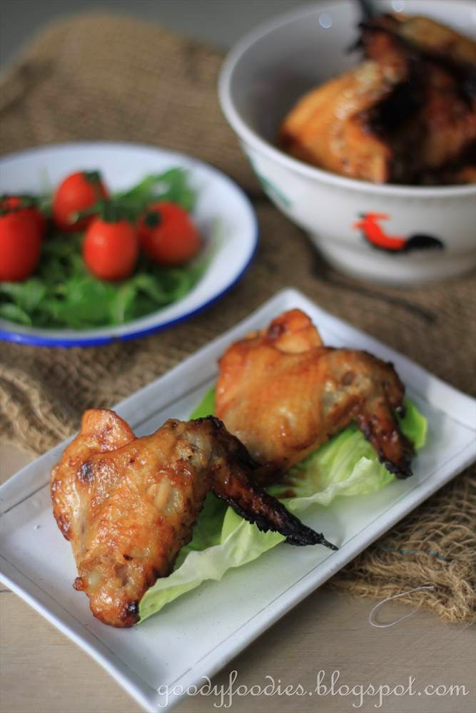 Goodyfoodies Recipe Sticky Spiced Chicken Wings Gordon Ramsay