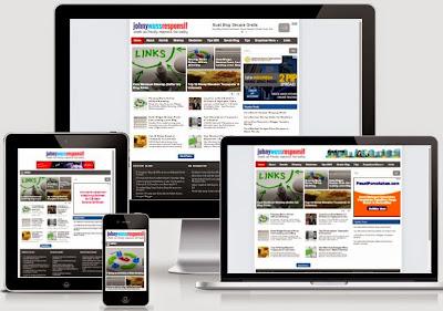 Johny Wuss Responsive - Template Blog SEO Paling SEO dan Cepat 2015