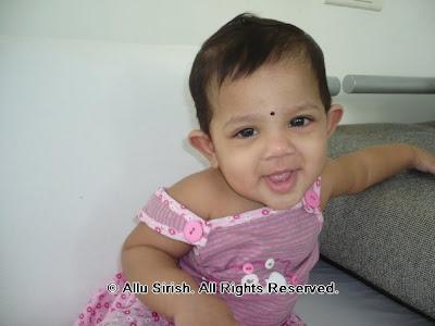 Anvitha, Allu Arjun Little Precious Princess (Venkatesh's daughter ...