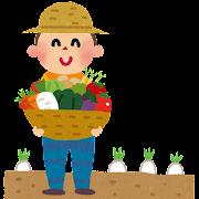 野菜農家のイラスト(農業)