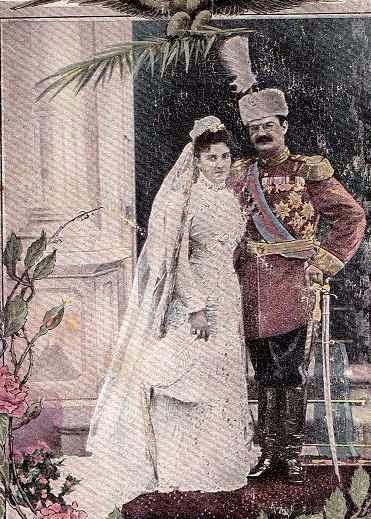 Mariage d'Alexandre I de Serbie et de Draga Mašin