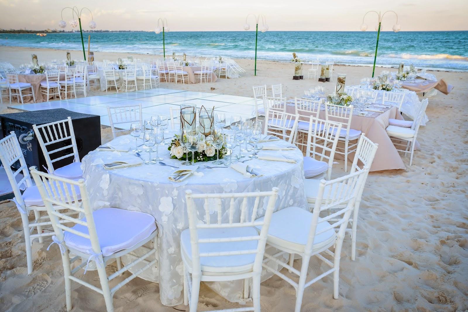 Party boutique canc n boda a la orilla del mar - Cristales para mesas redondas ...