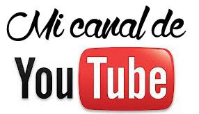 Acompáñame en YouTube!