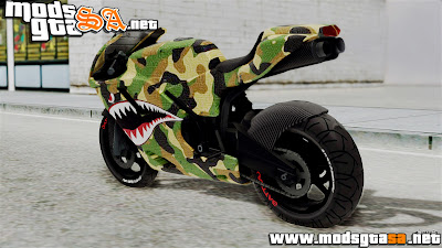 SA - Moto Camo da Boca do Tubarão Edition