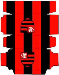 Aquarelinha Kit Futebol Flamengo