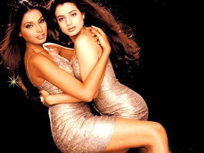 Bipasha and Ameesha