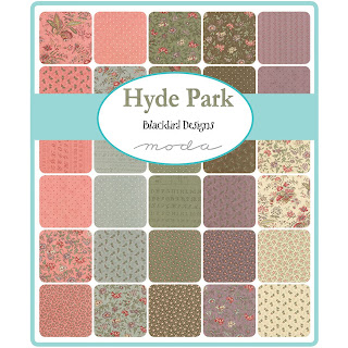 Moda Hyde Park Fabric by Blackbird Designs for Moda Fabrics
