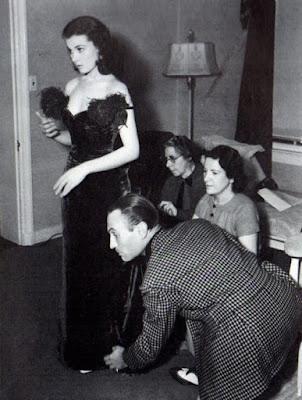 Walter Plunkett i Vivien Leigh