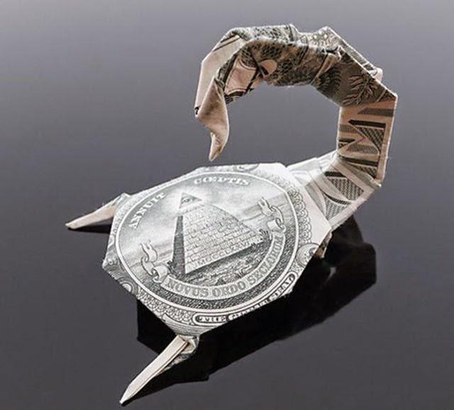 nuevas figuras de origami con billetes de 1 d lar