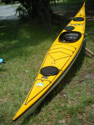 A Classic Greenland Design Sea Kayak In Excellent Condition