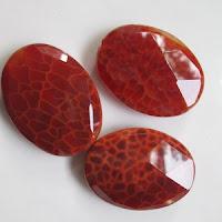 Batu Akik Sisik Naga Merah