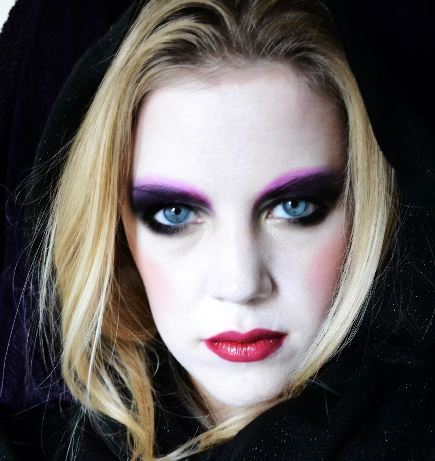 ... whatever you want it to be here is my take on gothic inspired make up