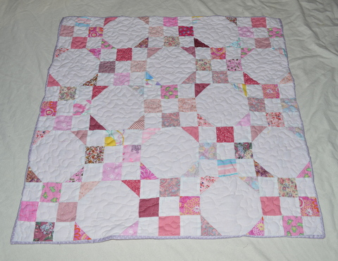 Michelle's Romantic Tangle: Colleena {a baby quilt tutorial} : romantic quilt patterns - Adamdwight.com