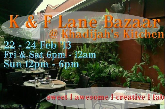 Sape Nak Join Gi K&F Lane Bazaar...?