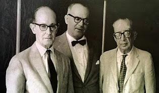Drummond, G. Rosa e Manuel Bandeira