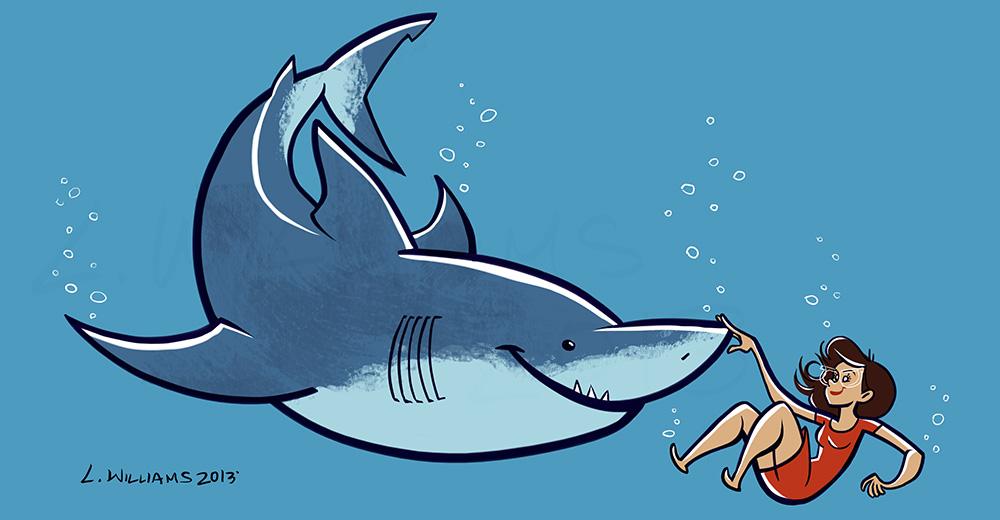Lily Williams: Shark Week 2013