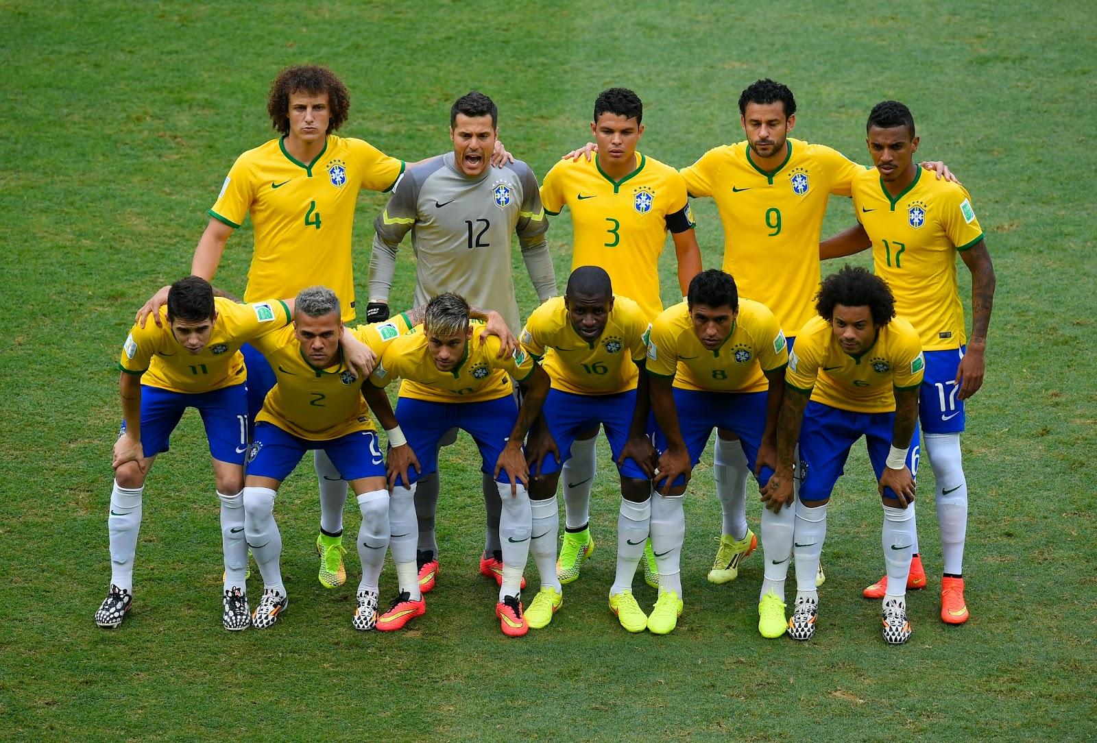 Brazil, Brazil Squad, Brazil vs Mexico, David Luiz, FIFA World Cup, FIFA World Cup 2014, Football, Fred, Group A, Hector Moreno, Luiz Felipe Scolari, Mexico Squad, Miguel Herrera, Neymar, Rafael Marquez, Sports,