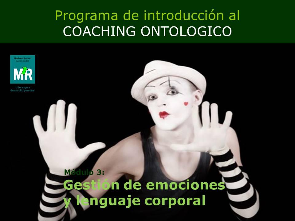 Gestión de emociones y lenguaje corporal