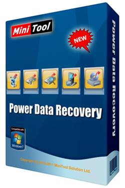 Capa MiniTool Power Data Recovery  Torrent