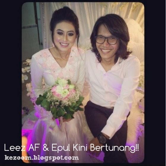 Gambar Pertunangan Leez AF & Epul