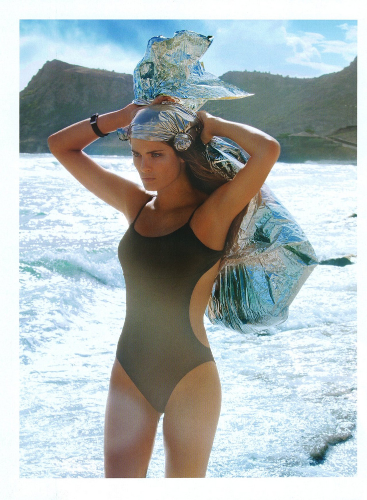 Isabeli Fontana by Gilles Bensimon for Vogue Paris July 2013