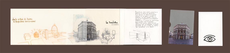 Crayon et sac dos carnet de florence voyage fictif for Vae architecte