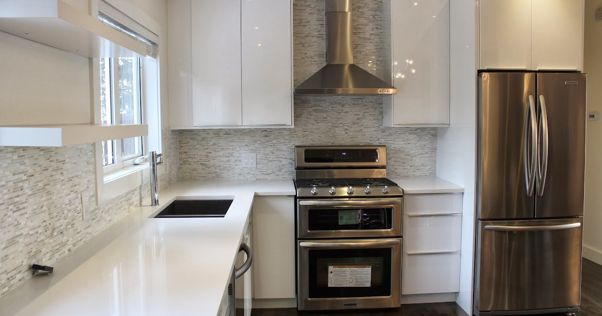 Pretty Swanky Digs Ikea Abstract Kitchen White High Gloss