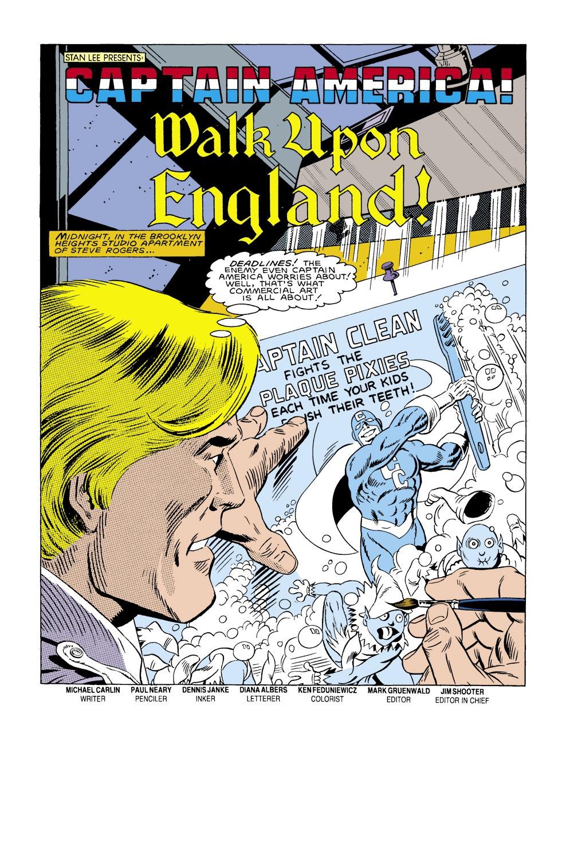 Captain America (1968) Issue #305 #233 - English 2
