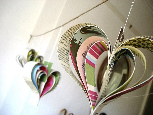 newspaper decoration ideas