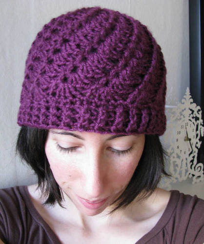Free Crochet Hat Patterns : crochet hat patterns model-Knitting Gallery
