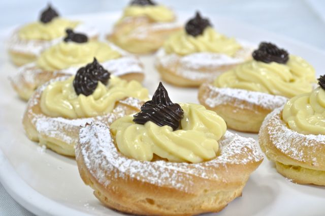 The Feast Of Saint Joseph Is Celebrated On March 19 Throughout Italy And The Feast Wouldn T Be Complete Without Zeppole De San Giuseppe Sometimes Called