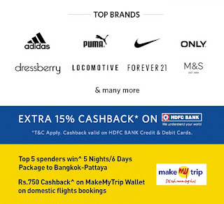 Myntra end of reason sale offers