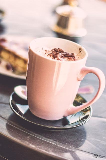 Cappuccino @ Ana Maria Cafe - Siwa Oasis - Photo By: Yasmen Refaat El-Shaa'rawy