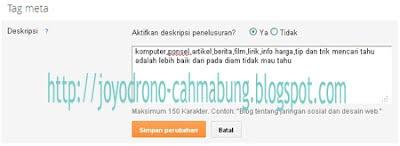 opsi baru blogger 2