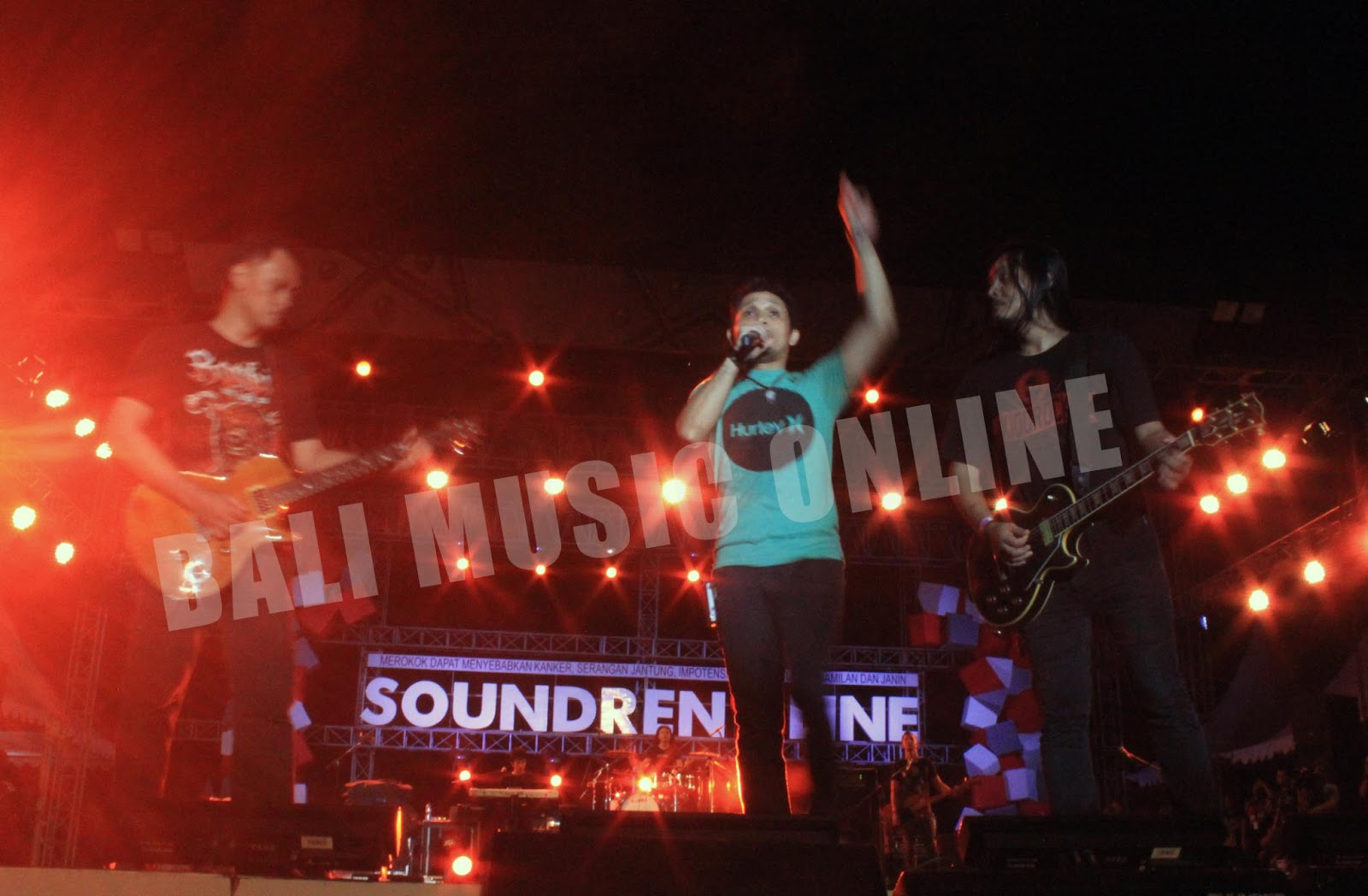 Bali Music Online A Road To Soundrenaline 2013 Di Tiket Soundren Andra And The Backbone