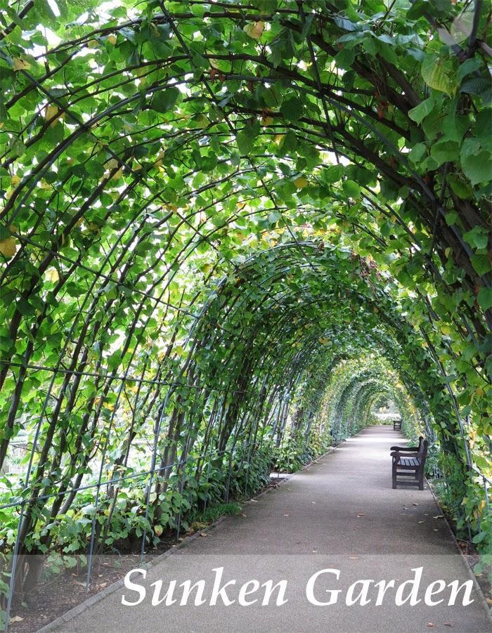 Paisaje libre the sunken garden en los jardines de kensigton for Jardines de kensington