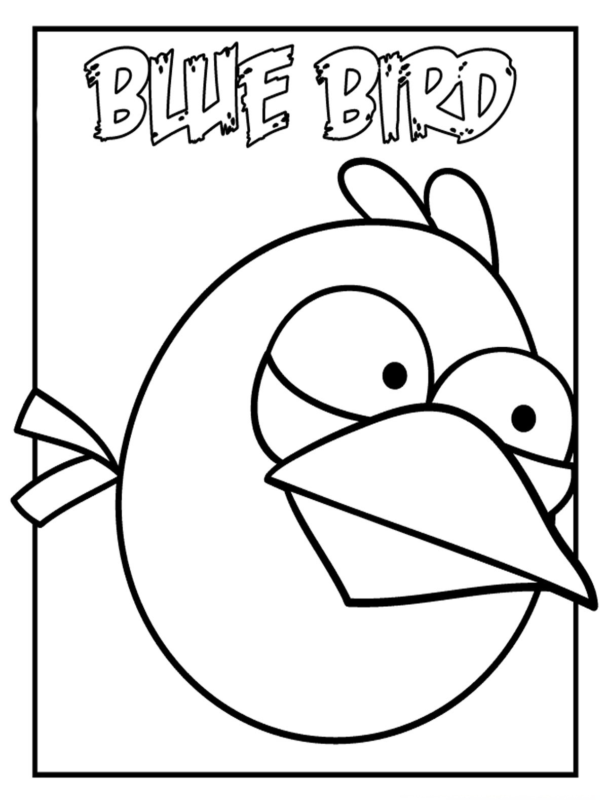 Angry Birds Coloring Pages For Kids Realistic Coloring Pages Angry Birds Coloring Pages For