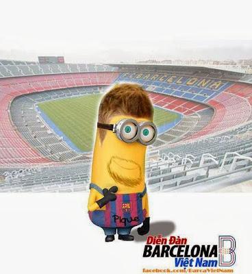 Minion Piqué - Futbol Parodia