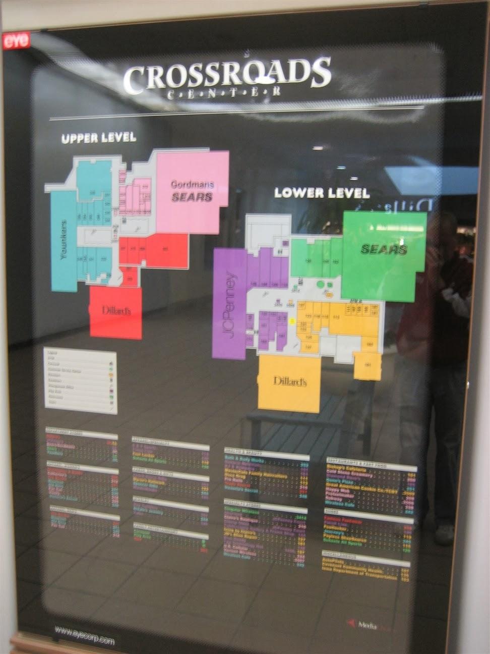 Crossroads Shopping Center Directory