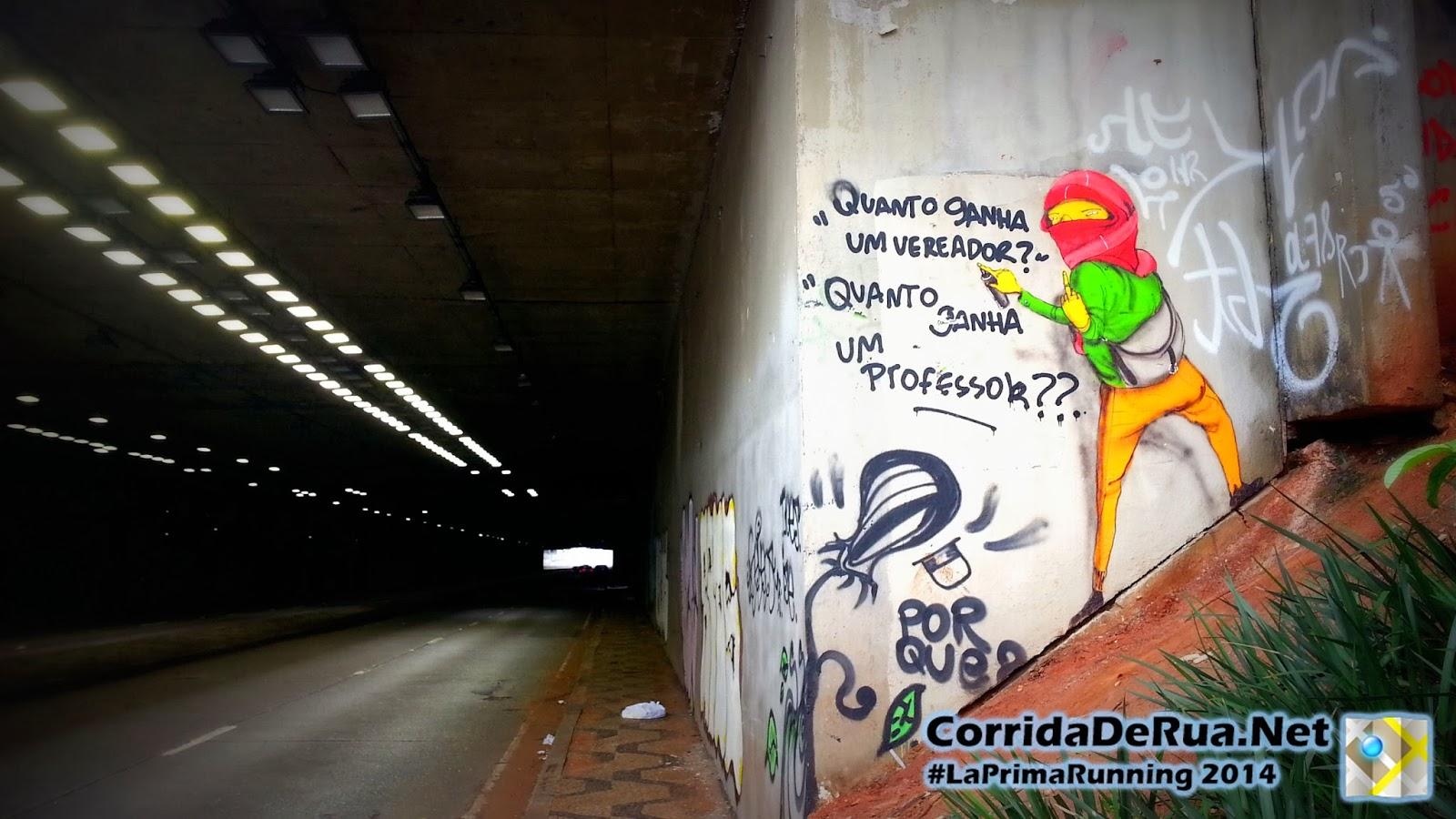 OsGemeos Corrida no túnel - Corrida De Rua