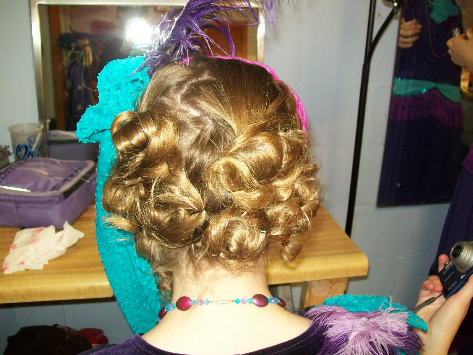 Whoville Hair Tutorial Her hair is medium length to