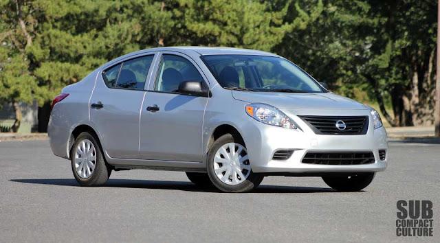 2012 Nissan Versa 1.6S