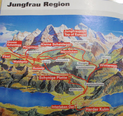 family wanderlust Day 18 Jungfrau Top of Europe 2011