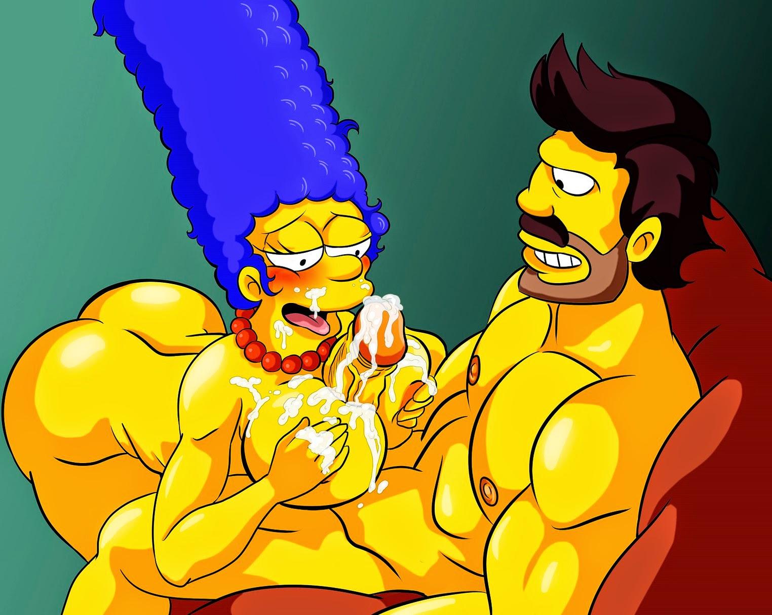 Взял порно игры про симпсонов этом